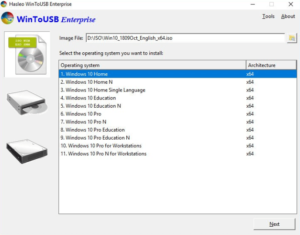 WinToUSB Enterprise Crack 6.0 With Full Download [Latest]
