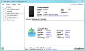 iPhone Backup Extractor Crack 7.7.32 With Keygen Free Download