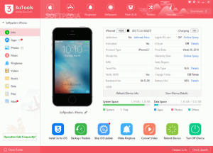3uTools Crack 2.56.012 With Free Download [Latest] 2021