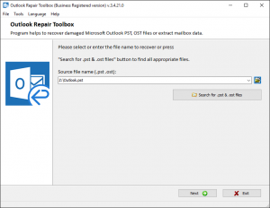 Outlook Recovery ToolBox Crack 4.7.15.77 + Free Download [Latest] 2022